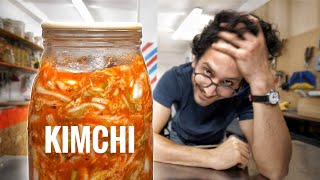 I Made Kimchi Without a Recipe. (reverse-engineering)