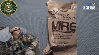 ИРП Армии США МЕНЮ 10 MRE MENU 10 CHILI AND MACARONI