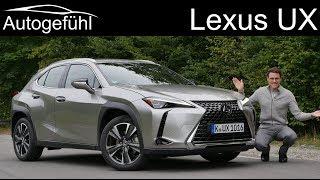 Lexus UX FULL REVIEW UX 200 - Autogefühl