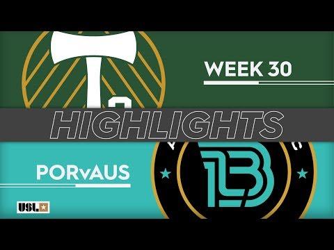 Портленд 2 - Austin Bold 1:2. Видеообзор матча 29.09.2019. Видео голов и опасных моментов игры