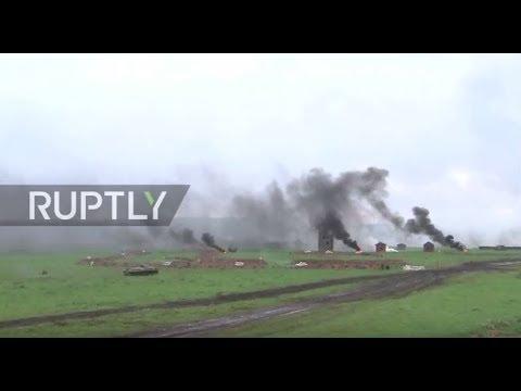 Russia: Drone captures huge Russian-Belarussian Zapad-2017 drills