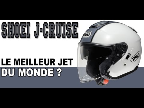 Casque Jet Shoei J-Cruise - Centrale-du-casque.com