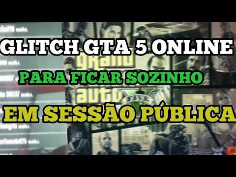 GTA 5 ONLINE SOLO GLITCH LOBBY PUBLICA VAZIA