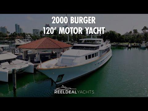 Burger Motor Yacht video