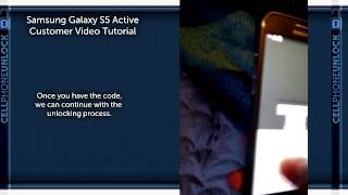How to unlock a Samsung Galaxy S5 Active