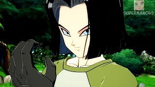 """Dragon Ball FighterZ: Android 17 Gameplay Breakdown! Dragon Ball FighterZ """"Android 17"""" Gameplay"""