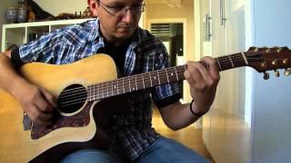 "Simone Boffa: acoustic version of ""Night ride home"" Joni Mitchell."