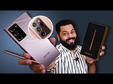 Samsung Galaxy Note 20 Ultra 5G Unboxing & First Impressions ⚡⚡⚡ True Ultra Flagship Of 2020?
