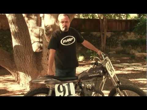 Yamaha 650 Flat Tracker Motorcyle – Yamaha Flat Tracker & Redline Frame