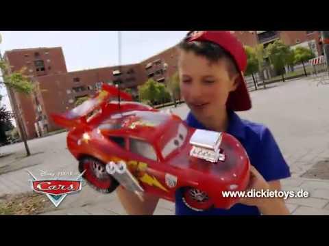 Dickie Zdalnie Sterowany Zygzac McQueen RC | zabawkiTV