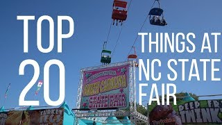 Top 20 Things to Do at the North Carolina State Fair!