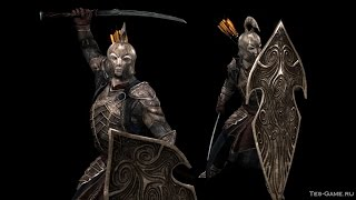 Skyrim.Мод на эльфийскую броню и оружие