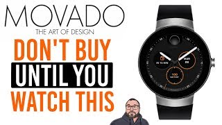 Don't buy the Movado Android Wear Smart Watch unless you watch this