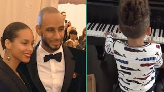 Watch Alicia Keys and Swizz Beatz's 4-Year-Old Son Play The Piano Like a Pro!