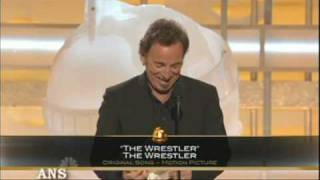 BRUCE SPRINGSTEEN WINS GOLDEN GLOBE FOR WRESTLER