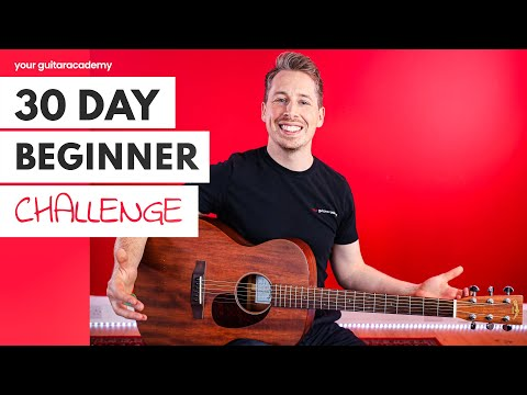 30 Day Beginner Challenge [Day 1] Guitar Lessons For Beginners