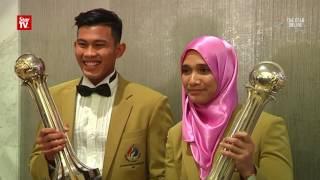 Abdul Latif and Siti grab top sports awards