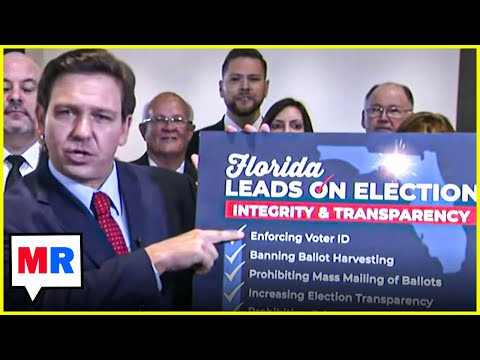 Florida Governor Signs Doomsday Voting Restriction Bill Live on Fox News
