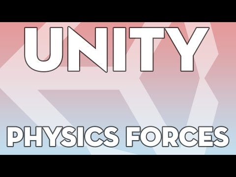 Unity Tutorials - Beginner 08 - Forces for Movement - Unity3DStudent.com