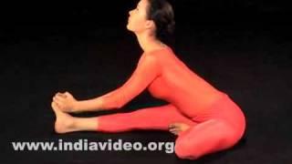 Janu Sirshasana (The Head to knee pose)