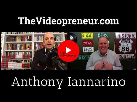 Anthony Iannarino On Selling with Video, Building a Brand and Engaging Your Customers with Video.