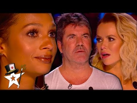 Unreal Magic Auditions That SHOCKED Simon Cowell | Magicians Got Talent (видео)