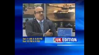 THE UK EDITION Zen Technologies CMD, Ashok Atluri's Interview at DSEI 2015 London