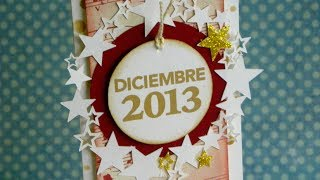 XMAS SERIES: December Card - Tarjeta Diciembre
