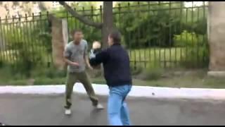 Реальная Драка Fight Нокаут с ноги!