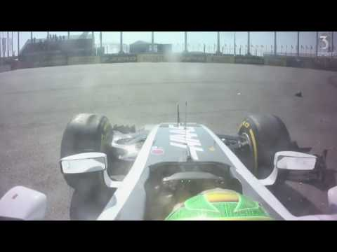 Image: Throwback - Watch Gutierrez ram Hulkenberg off the track in Russia