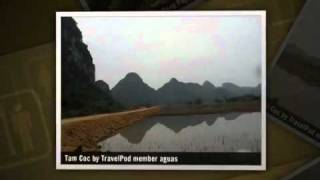 preview picture of video 'Ninh Binh and Tam Coc Aguas's photos around Ninh Binh, Vietnam'