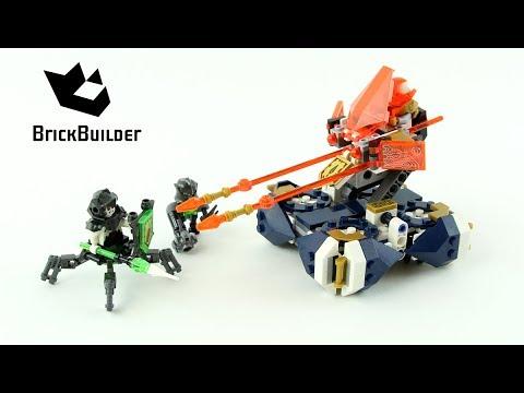 Vidéo LEGO Nexo Knights 72001 : L'aérotireur de Lance