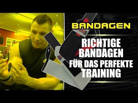 Die richtigen Bandagen für das perfekte Training - Was ist wichtig? - #DanielGildner .com