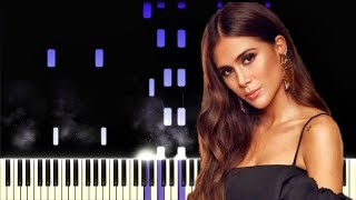 Greeicy, Juanes   Minifalda | Piano Cover | Instrumental Karaoke