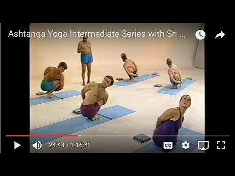 Vezetett Astanga jóga második sorozat Sri K. Pattabhi Jois-al