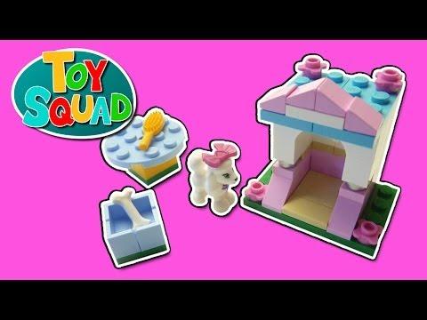 LEGO Friends 41021 pas cher Le caniche et son petit palais