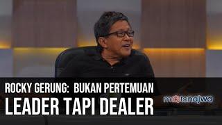 Gerbong Jokowi-Prabowo - Rocky Gerung: Bukan Pertemuan Leader tapi Dealer (Part 1) | Mata Najwa