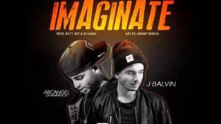 Arcangel - Imaginate ft. J Balvin (Letra)
