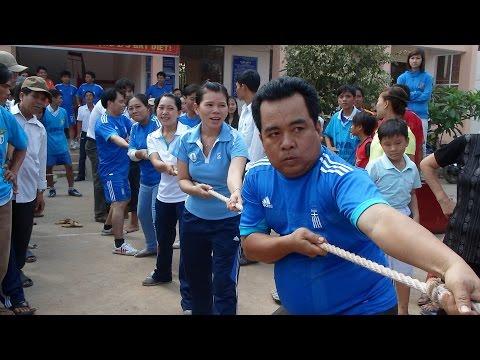 Kéo co - Trò chơi dân gian của trường THCS Long Kiến
