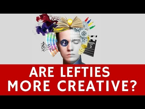 Are Left-Handed People More Creative in their Jobs?