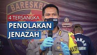 Polisi Menetapkan 4 Tersangka Penolakan Jenazah di Kabupaten Bandung