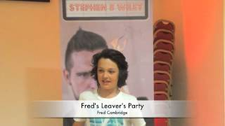 Fred's Leavers Party, Cambridge