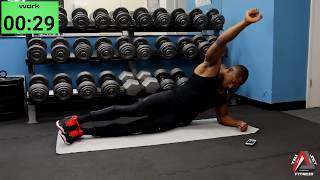 10 Minute Obliques & Upper Abs Workout