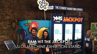 BAM Jackpot - Huge Exhibition Stand Slot Machine