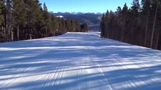 Breckenridge Colorado New Year's Day 2016 - First Chair!