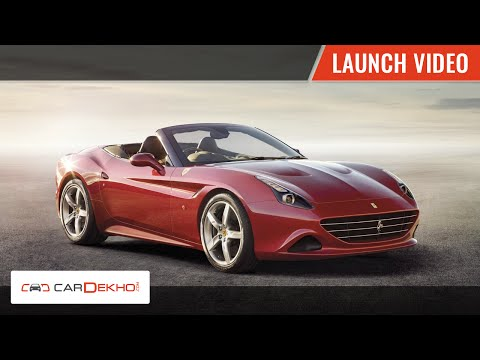 2015 Ferrari California T Launch Video | CarDekho.com