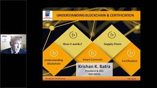BLOCKCHAIN CERTIFICATION For Procurement & Supply chain Professionals