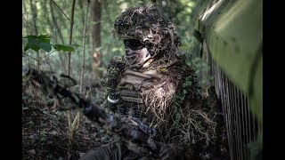 GHILLIE REVIEW   BE-X Sniper Umhang   ENG SUBTITLE