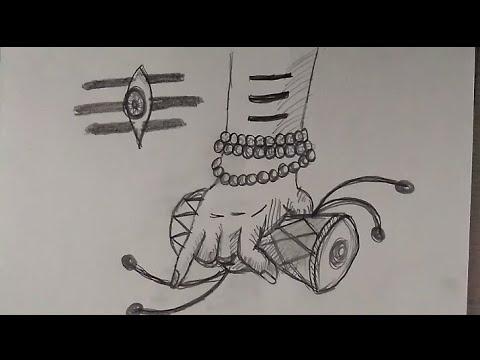 How to draw Lord Shiva drawing step by step || Deepak Gurjar
