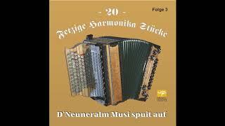 Neuneralm Jubiläums Polka   D'Neuneralm Musi   20 Fetzige Harmonika Stücke   Folge 3